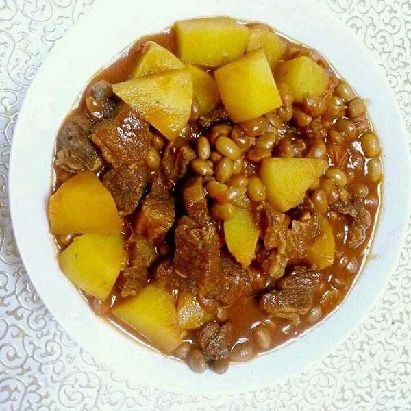 味道不错的土豆炖肉的做法