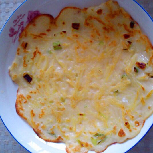 窝蛋土豆丝饼