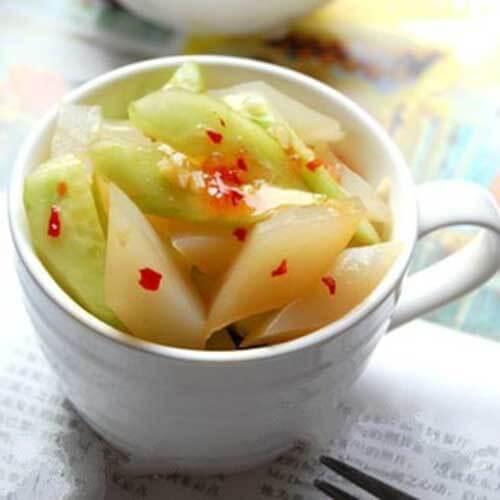 美美厨房之水腌菜拌魔芋