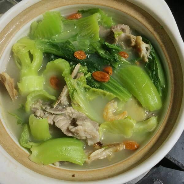 芥菜炖排骨