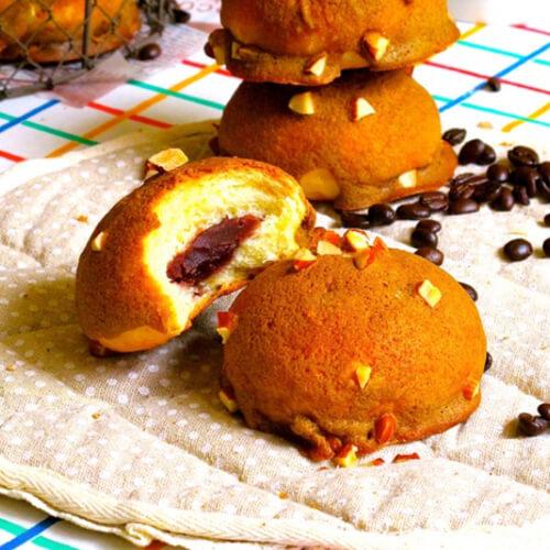 酸奶黑芝麻麻薯面包