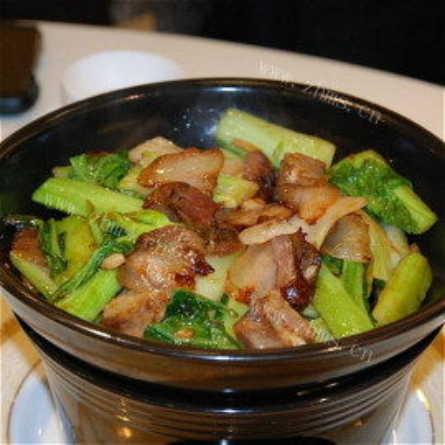 腊肉芥菜煲