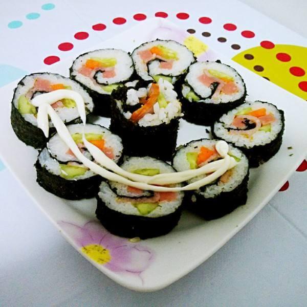 #回忆#懒人寿司