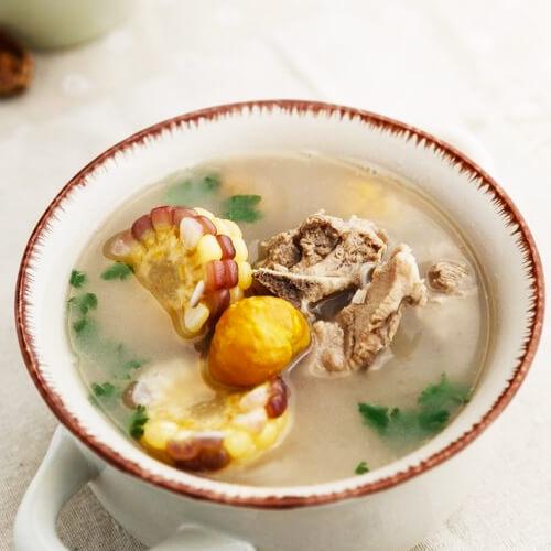 【DIY】猪骨栗子汤