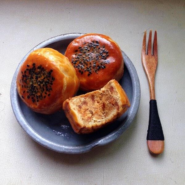 月饼炒辣椒