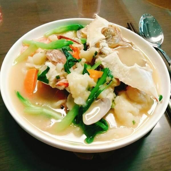 海鲜排骨粥
