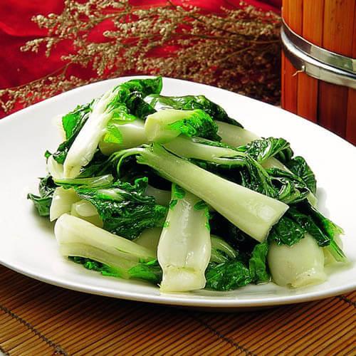 蒜炒奶白菜