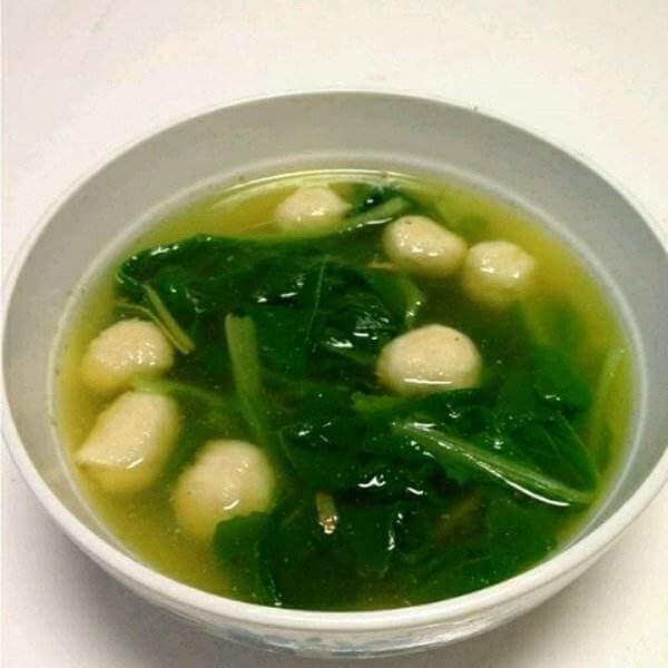芦子叶肉丸汤