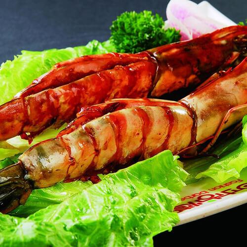 美味烤对虾