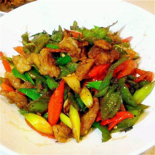 辣椒炒肉的做法大全
