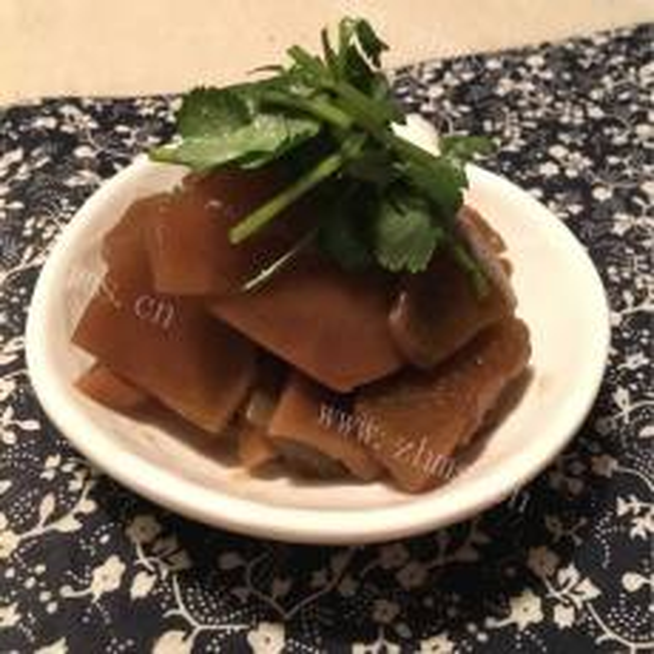 醋泡话梅萝卜皮(懒人版)