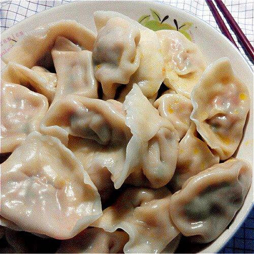 黑木耳芹菜瘦肉饺子