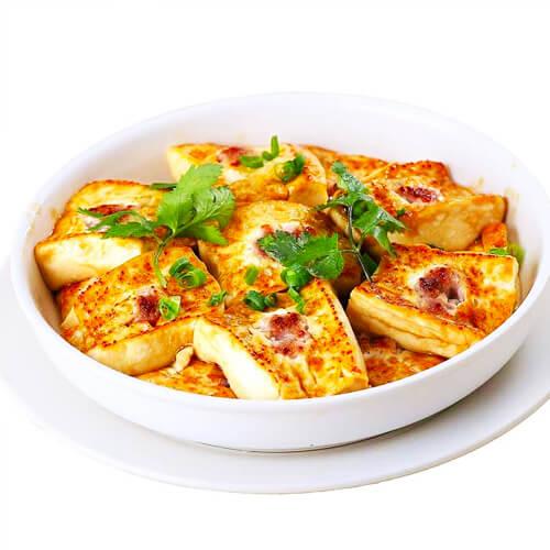 家庭版的红烧豆腐的做法