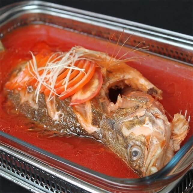 番茄煮桂鱼