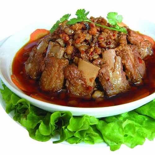 【美味可口】姜蒜蚝油蒸排骨
