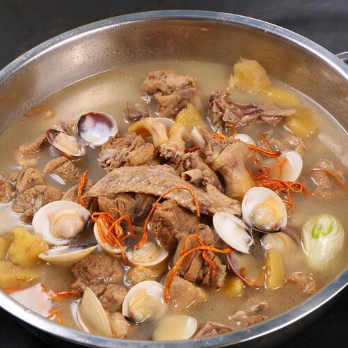 虫草花番鸭菌汤