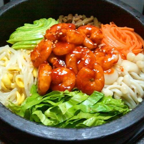 韩国拌饭的做法