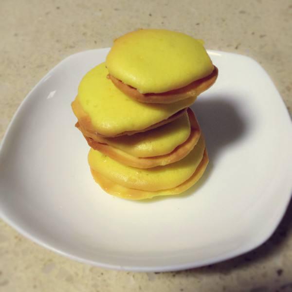 浓香原味蛋黄饼