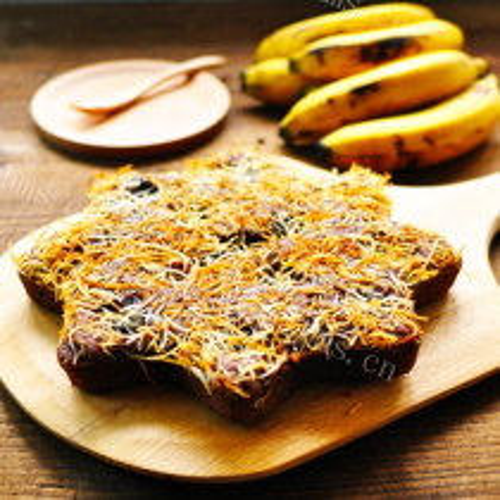 椰丝香蕉蛋糕