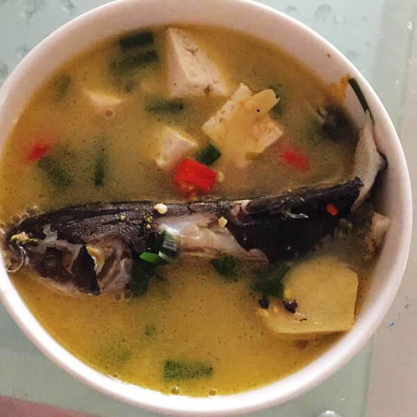 鱼头豆腐木瓜汤
