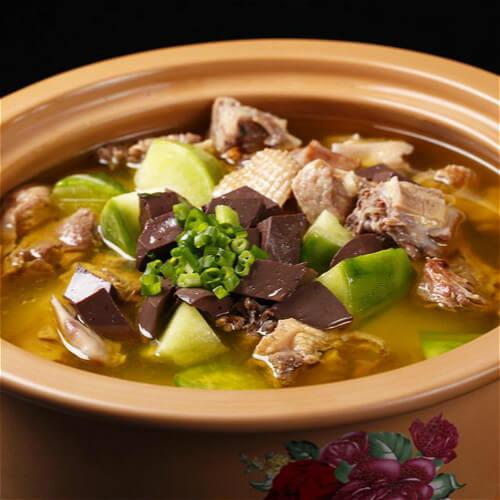 巴西菇番鸭汤
