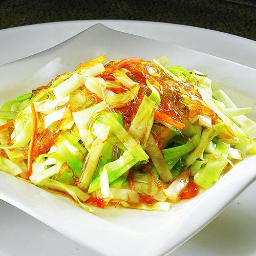 剩菜炒椰菜