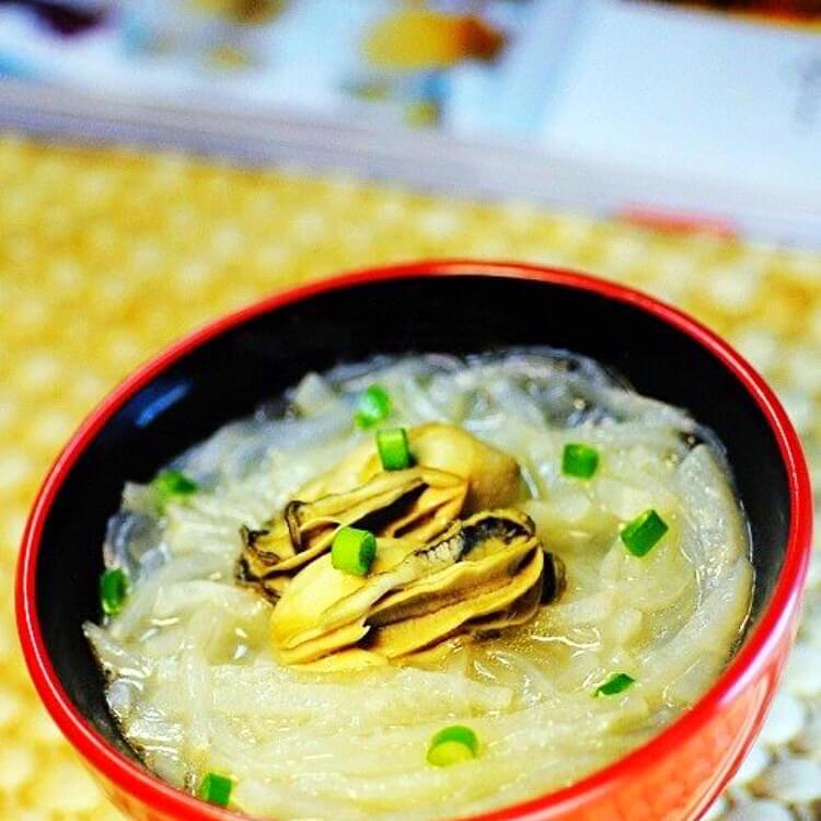 萝卜丝牡蛎汤