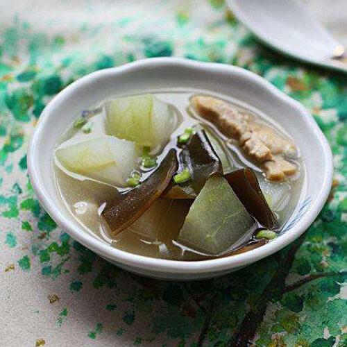 特色冬瓜海带汤的做法