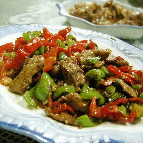 辣椒炒肉做法