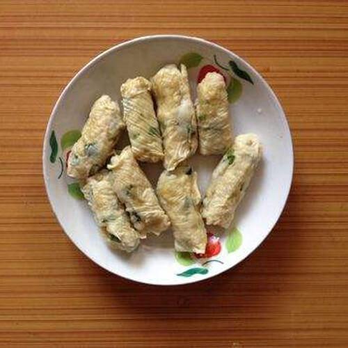 鱼卷炒荷兰豆