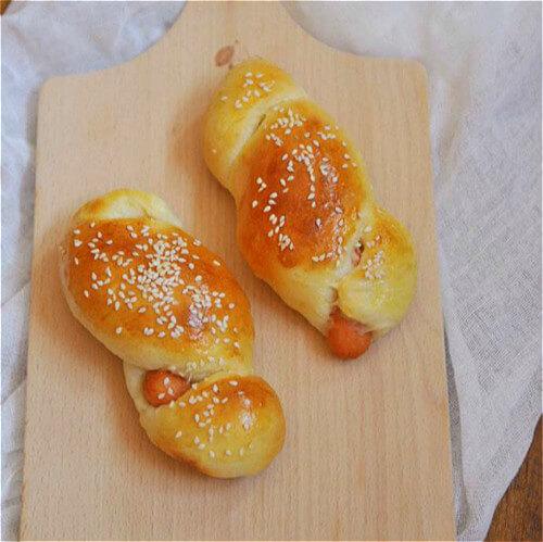 黑胡椒早餐包(原创)