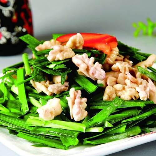 【DIY美食】麻蚶子炒韭菜