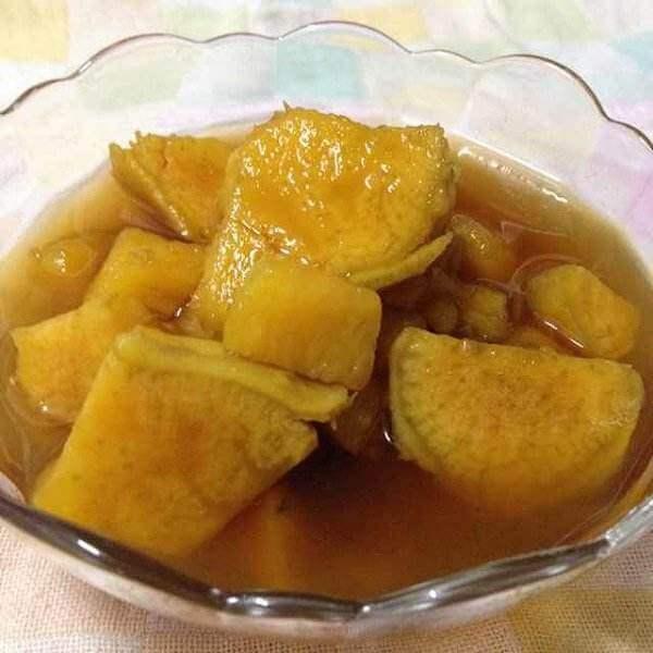 蕃薯陈皮糖水