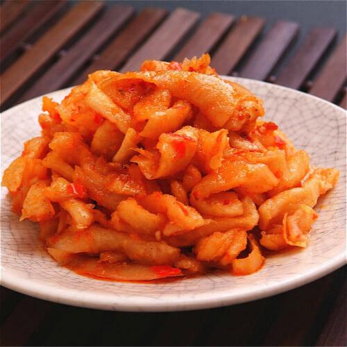 韩式脆辣萝卜