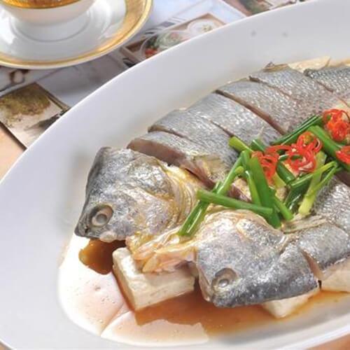 咸黄鱼蒸豆腐