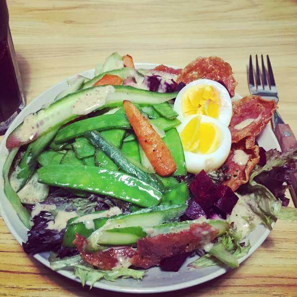 【DIY美食】黄瓜鸡蛋沙拉