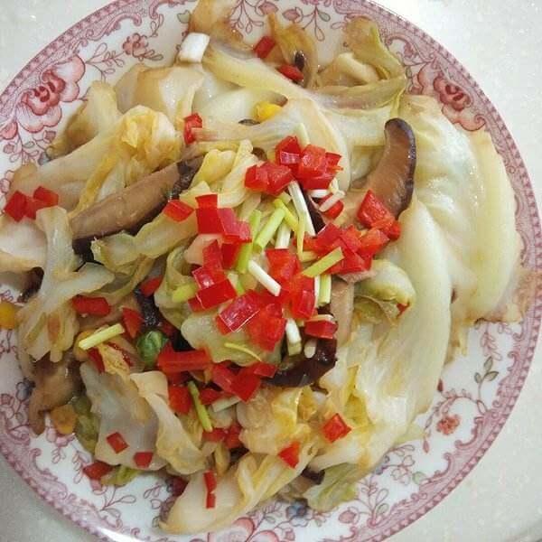 辣炝卷心菜