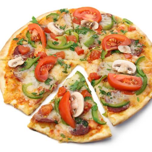 香肠吐司小披萨
