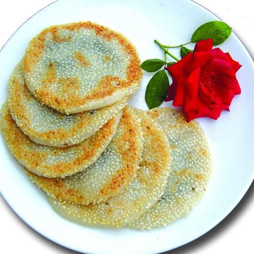 果香红枣豆渣芝麻饼