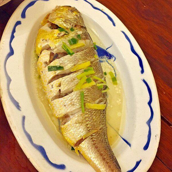 清蒸南洋斑点鱼