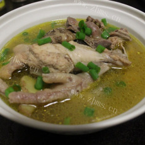 可口的韩国安东炖鸡