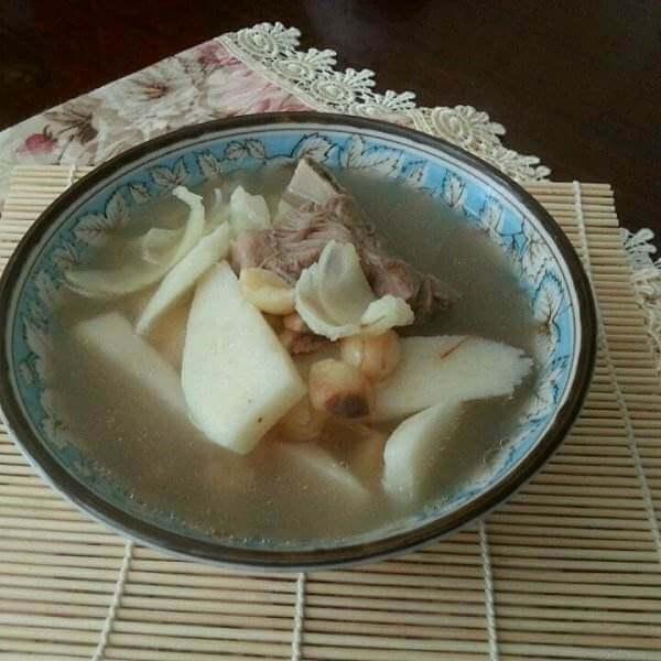 黄精淮山排骨汤