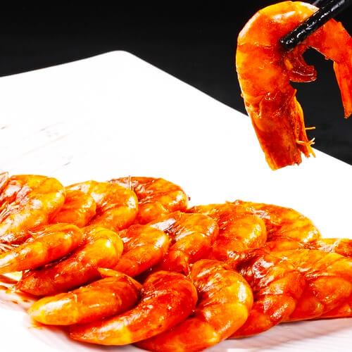 最爱的葱烧虾