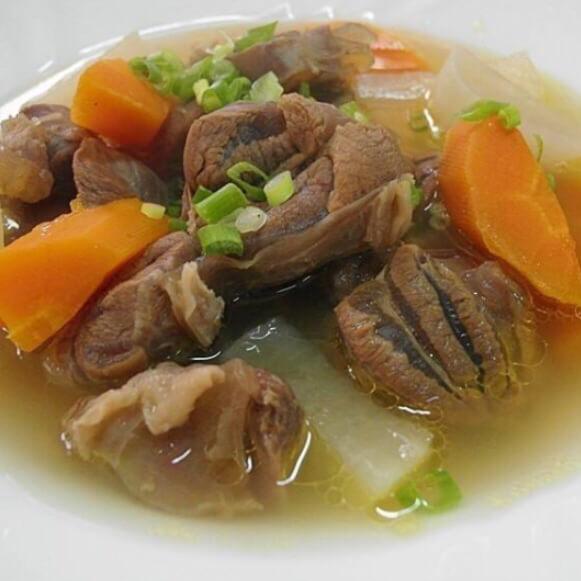 【DIY美食】三神猪键子汤