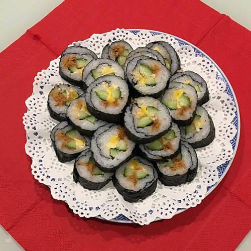 咸鸭蛋黄寿司