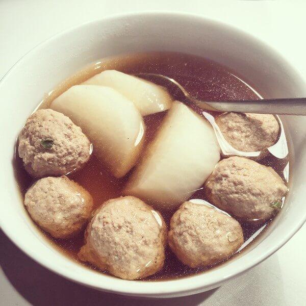 肉丸子汤的做法