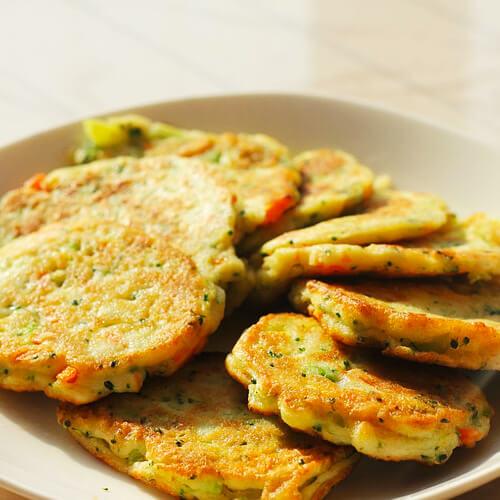 香芹豆渣饼