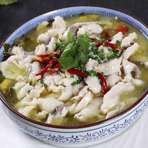 酸菜桂花鱼
