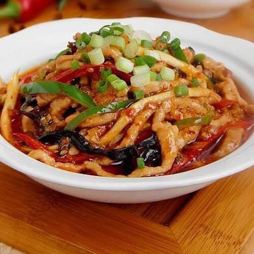 鱼香茭白茄子