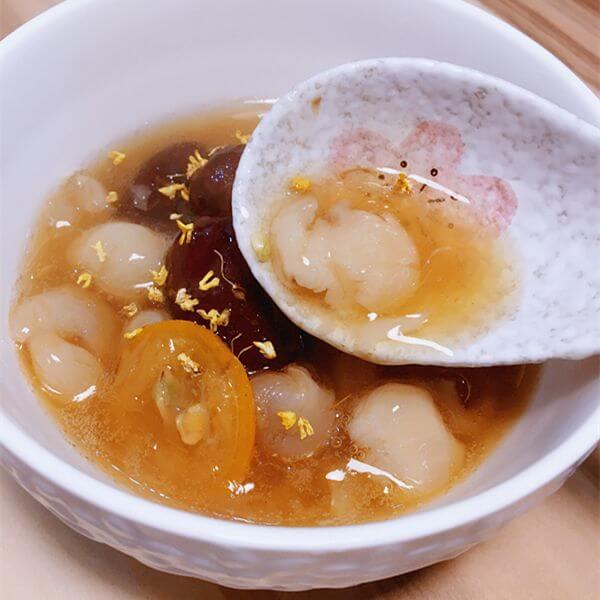 金桔红枣桂圆茶